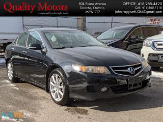 Used 2006 Acura TSX LEATHER for sale in Etobicoke, ON