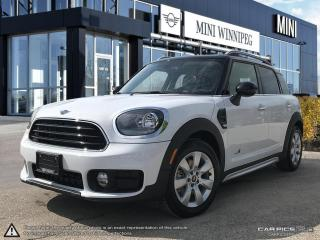 New 2019 MINI Cooper Countryman Cooper ALL4 AWD for sale in Winnipeg, MB