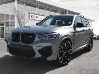 New 2020 BMW X3 M Competition ///M Season Is Here! for sale in Winnipeg, MB