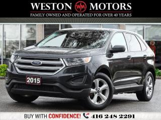 Used 2015 Ford Edge SE*REVERSE CAM*BTOOTH*POWER GROUP*PRICED TO SELL* for sale in Toronto, ON