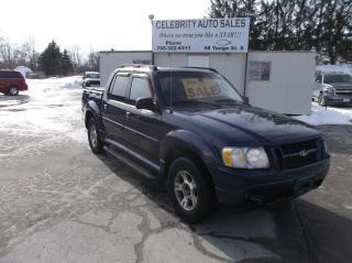 Used 2004 Ford Explorer Sport Trac XLT for sale in Elmvale, ON