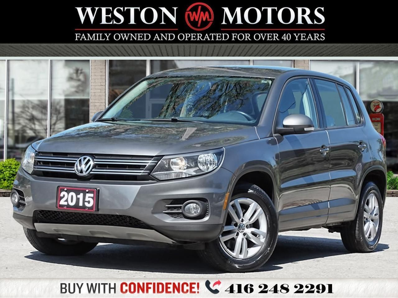 2015 Volkswagen Tiguan 2.0L*AWD*TSI*4MOTION*PRICED TO SELL!