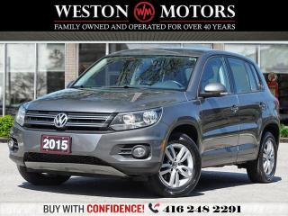 Used 2015 Volkswagen Tiguan 2.0L*AWD*TSI*4MOTION*PRICED TO SELL!!* for sale in Toronto, ON