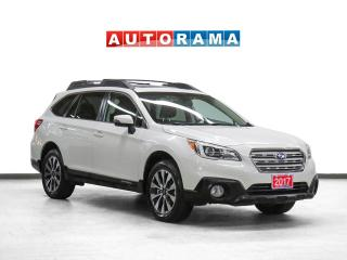 Used 2017 Subaru Outback Limited EyeSight AWD Nav Leather Sunroof Bcam for sale in Toronto, ON