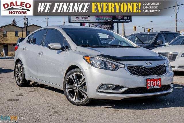 2016 Kia Forte EX / BACK UP CAM / MOONROOF / HEATED SEATS