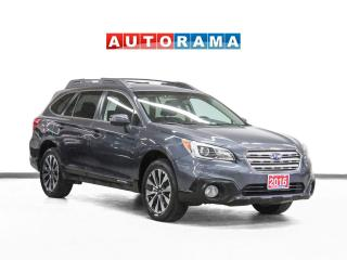 Used 2016 Subaru Outback Limited EyeSight AWD Nav Leather Sunroof Bcam for sale in Toronto, ON