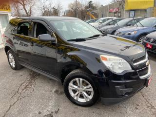 Used 2011 Chevrolet Equinox LS/ BLUETOOTH/ PWR GROUP/ ALLOYS/ TINTED/ LIKE NEW for sale in Scarborough, ON