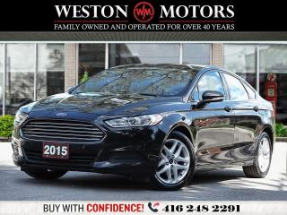 Used 2015 Ford Fusion SE*BLUETOOTH*REVERSE CAMERA*WOW ONLY 79KM!!!* for sale in Toronto, ON