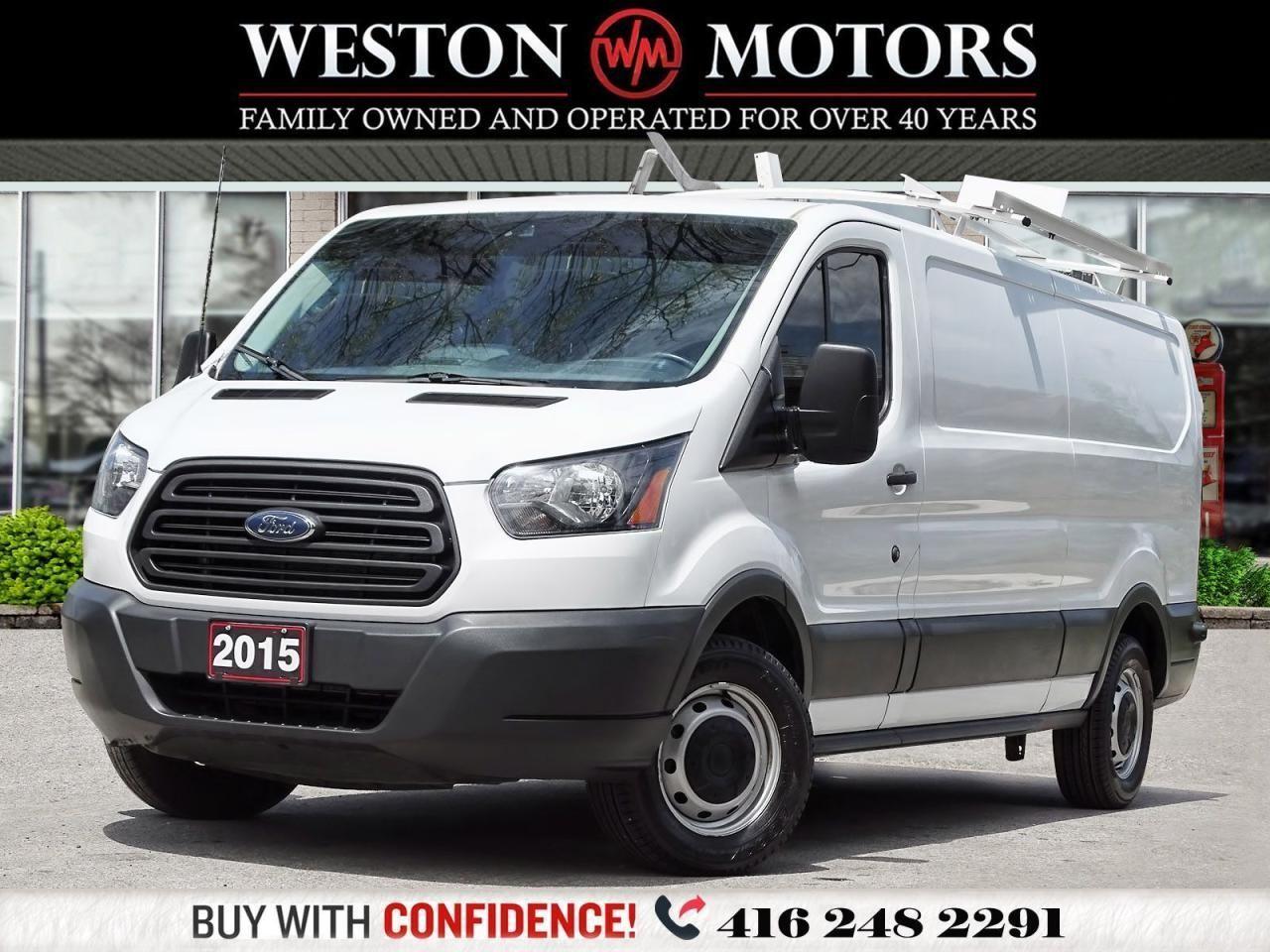 2015 Ford Transit 150 3.7L*148WB*SHELVING*ROOFRACK*REVCAM*BARN DOORS!