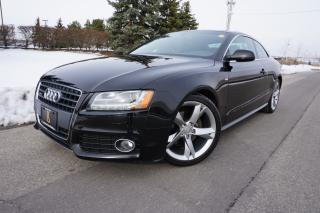 Used 2010 Audi A5 S-LINE / LOW KM'S / NO ACCIDENTS / STUNNING RIDE for sale in Etobicoke, ON