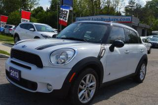Used 2013 MINI Cooper Countryman S ALL4 for sale in Richmond Hill, ON