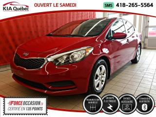 Used 2015 Kia Forte LX* GROUPE ELECTRIQUE* BLUETOOTH* for sale in Québec, QC
