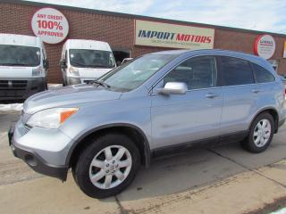 Used 2009 Honda CR-V EX-L 4WD NAV ACCIDENT FREE for sale in North York, ON