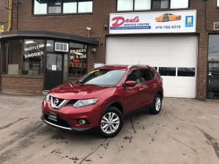 Used 2016 Nissan Rogue SV AWD-BLUETOOTH-BACKUP CAMERA*CERTIFIED* for sale in York, ON