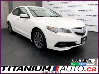 Used 2016 Acura TLX V6 Tech+SH-AWD+GPS+Camera+Blind Spot+Lane Assist++ for sale in London, ON