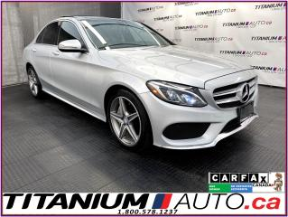 Used 2016 Mercedes-Benz C-Class AMG PKG+4Matic+GPS+Camera+Pano Roof+Blind Spot+ for sale in London, ON