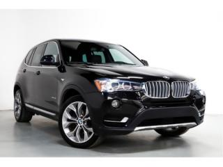 Used 2017 BMW X3 xDrive28i   X LINE   PANORAMIC ROOF   NAVIGATION for sale in Vaughan, ON