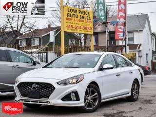 Used 2018 Hyundai Sonata SPORT*GLS*Sunroof*Leather*PushStart*Camera&Warrant for sale in Toronto, ON