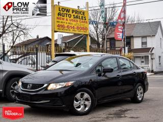 Used 2015 Honda Civic Sedan *SOLD* for sale in Toronto, ON