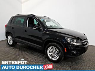 Used 2016 Volkswagen Tiguan Spécial Édition AWD AIR CLIMATISÉ Sièges Chauffant for sale in Laval, QC