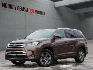 Used 2019 Toyota Highlander AWD limited for sale in Mississauga, ON