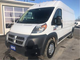 Used 2015 RAM 2500 ProMaster High Roof for sale in Tilbury, ON
