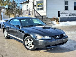 Used 2002 Ford Mustang 3.8L 2dr Coupe V6 Power A/C for sale in Sutton, ON