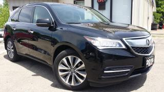 Used 2016 Acura MDX w/Tech and Entertainment Package - NAV! BACK-UP CAM! BSM! DVD! for sale in Kitchener, ON
