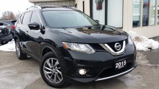 Used 2015 Nissan Rogue SL AWD - LEATHER! NAV! 360 CAM! DRIVING AIDS! for sale in Kitchener, ON