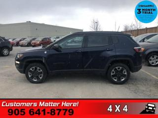 Used 2018 Jeep Compass Trailhawk  NAV LEATH ROOF P/GATE P/SEAT for sale in St. Catharines, ON