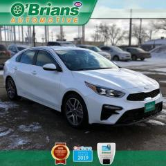Used 2019 Kia Forte EX w/Mfg Warranty, Qi Charging, Backup Camera, Heated Seats for sale in Saskatoon, SK