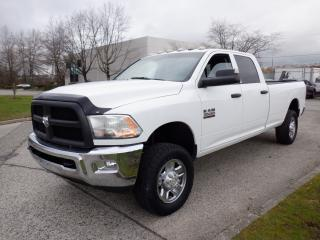Used 2014 RAM 3500 ST Crew Cab Long Box 4WD Diesel for sale in Burnaby, BC