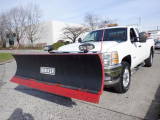 Used 2011 Chevrolet Silverado 3500HD Plow Truck  and Sander Ext. Cab Long Box 4WD for sale in Burnaby, BC