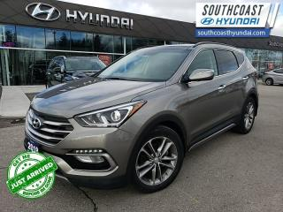 Used 2018 Hyundai Santa Fe Sport Limited AWD  - Leather Seats - $180 B/W for sale in Simcoe, ON
