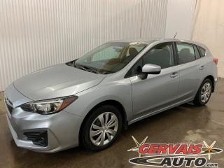 Used 2017 Subaru Impreza Convenience AWD Hatchback Caméra Bluetooth *Bas Kilométrage* for sale in Trois-Rivières, QC