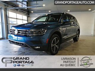 Used 2019 Volkswagen Tiguan Highline 4MOTION **ens. d'aide à la cond for sale in Rivière-Du-Loup, QC