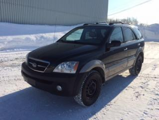 Used 2005 Kia Sorento 4 portes boîte automatique EX avec group for sale in Quebec, QC
