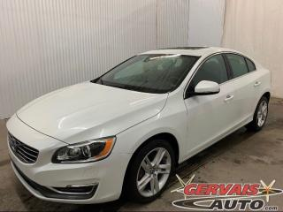 Used 2015 Volvo S60 T5 Premier Plus AWD GPS Cuir Toit Ouvrant MAGS *Bas Kilométrage* for sale in Shawinigan, QC