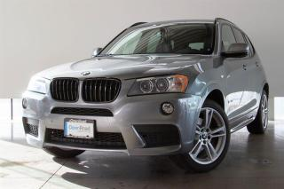 Used 2014 BMW X3 xDrive28i M Sport Line -LOCAL BC VEHICLE, M-SPORT LINE, NAVIGATION, HEATED FRONT AND REAR SEATS, PANORAMIC SUNROOF for sale in Langley City, BC