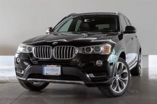 Used 2016 BMW X3 xDrive28i ACCIDENT FREE! NAVI, PREMIUM ENHANCED PACK! for sale in Langley City, BC
