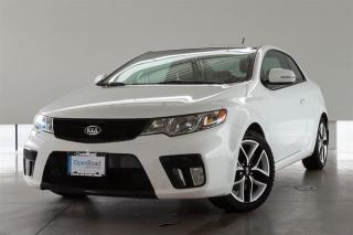 Used 2013 Kia Forte Koup 2.4 SX at -LOCAL BC VEHICLE, SPORT-TUNED SUSPENSION, HEATED FRONT SEATS for sale in Langley City, BC