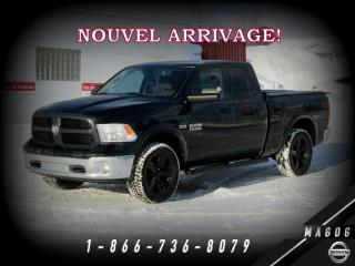 Used 2016 RAM 1500 OUTDOORSMAN + 4X4 5,7L + LUXURY + WOW! for sale in Magog, QC