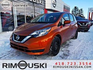 Used 2017 Nissan Versa Note 5dr HB 1.6 SV ** BALANCE DE GARANTIE NISSAN** for sale in Rimouski, QC