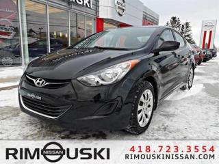 Used 2013 Hyundai Elantra 4DR SDN AUTO GL for sale in Rimouski, QC