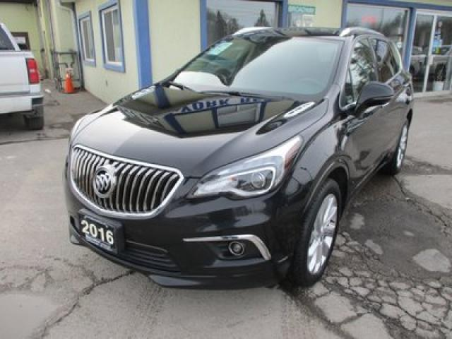 2016 Buick Envision ALL-WHEEL DRIVE PREMIUM EDITION 5 PASSENGER 2.5L - DOHC.. NAVIGATION.. PANORAMIC SUNROOF.. LEATHER.. HEATED SEATS.. BACK-UP CAMERA.. BLUETOOTH..