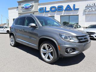 Used 2016 Volkswagen Tiguan Highline 2.0T 6sp at w/ Tip 4M for sale in Ottawa, ON