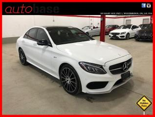 Used 2017 Mercedes-Benz C-Class C43 AMG 4MATIC AMG DRIVERS PREMIUM 360 CAM LED LIGHTING for sale in Vaughan, ON