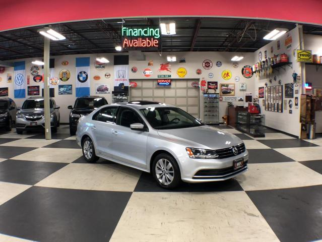2016 Volkswagen Jetta Sedan 1.4TSI TRENDLINE  AUT0 SUNROOF BACKUP CAMERA