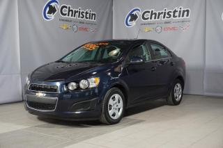 Used 2015 Chevrolet Sonic LT CAM DE RECUL, DEM A DISTANCE SIEGE CHAUFFANT for sale in Montréal, QC