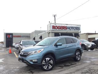 Used 2016 Honda CR-V TOURING AWD - NAVI - SUNROOF - LEATHER for sale in Oakville, ON